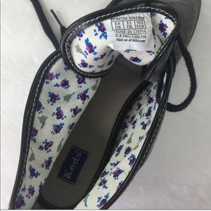 Keds Shoes - Keds Lace Up Gray & Black Ankle Booties